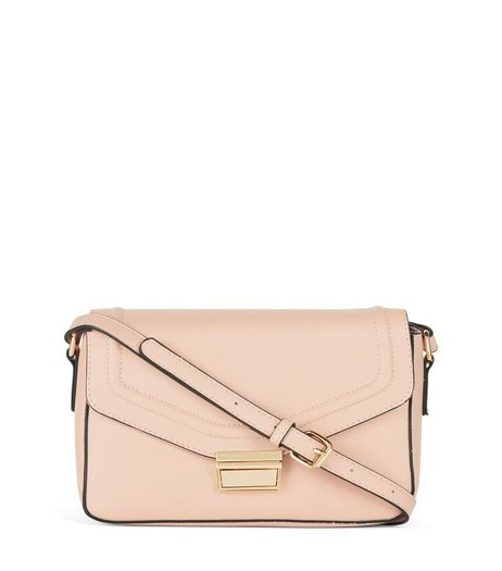 Shell Pink Across Body Bag | New Look