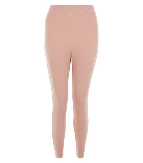 Cameo Rose Shell Pink Leggings | New Look