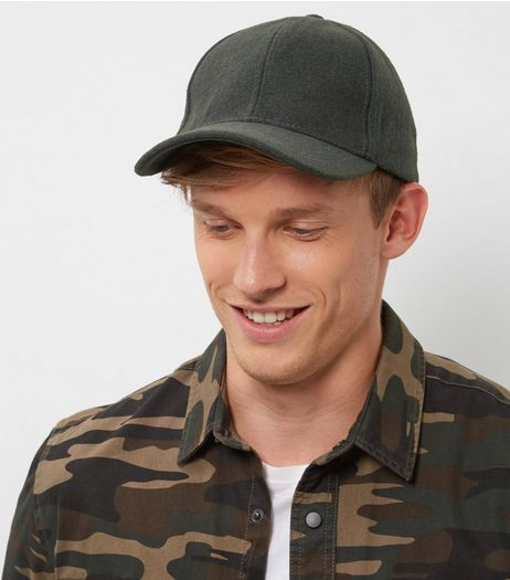 Khaki Warm Handle Curved Peak Cap | New Look