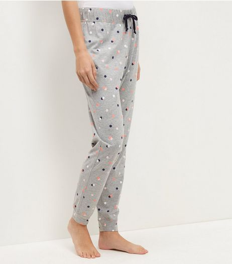 Pink Spot Print Pyjama Bottoms | New Look