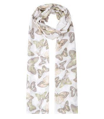cream-butterly-print-longline-scarf