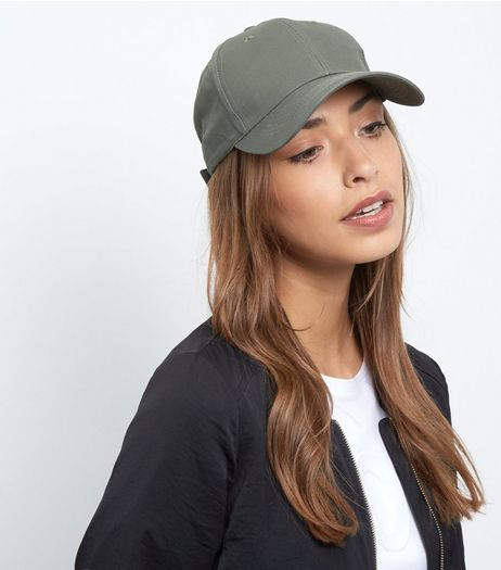 Khaki Baseball Cap | New Look
