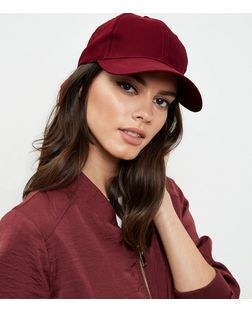 Red Baseball Cap | New Look