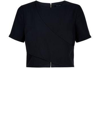 black-crepe-wrap-front-top