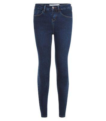 Petite Blue Denim Supersoft Super Skinny Jeans