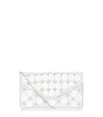 white-floral-embellished-envelope-clutch