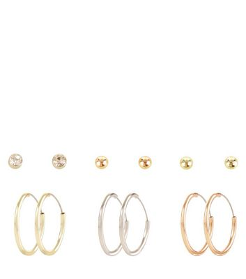 6-pack-silver-gold-rose-rold-earrings