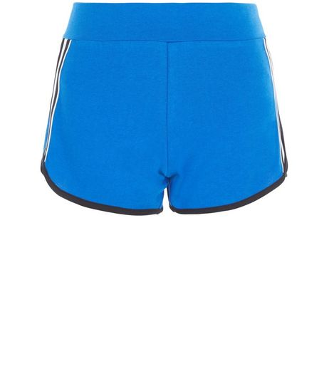 Teens Blue Stripe Side Shorts | New Look