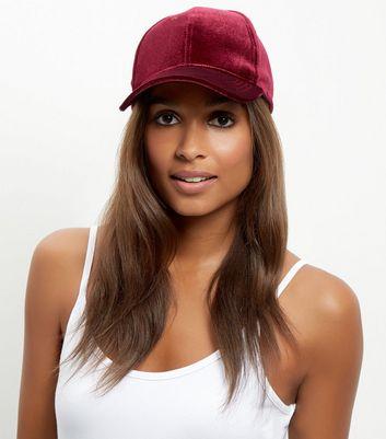 dark-red-velvet-cap