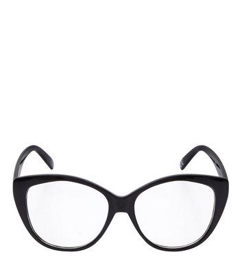 black-cat-eye-glasses