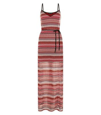 red-crochet-v-neck-maxi-dress