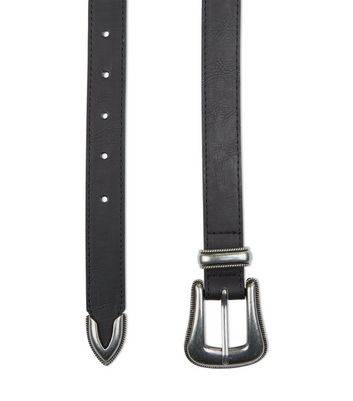 black-western-leather-look-belt