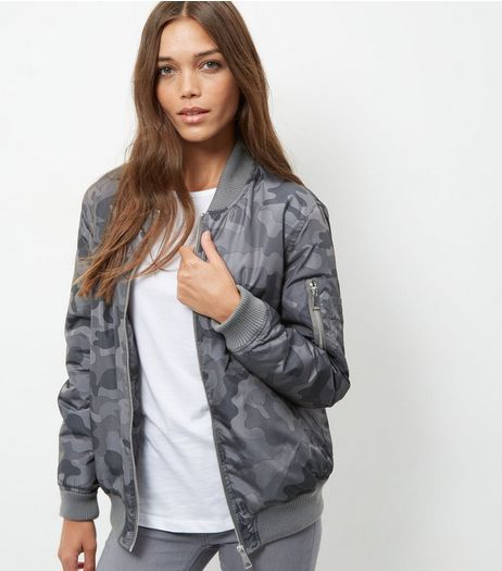 Anita and Green Khaki Bomber Jacket | New Look