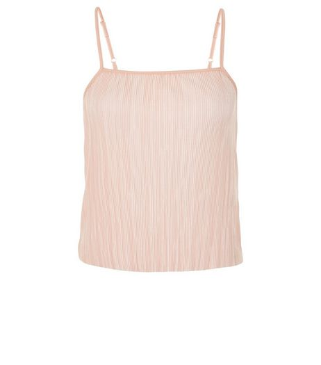 Teens Pink Pleated Cami | New Look