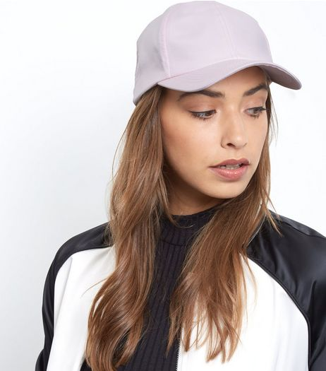 Pink Satin Cap | New Look