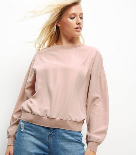 Pink Sports Sweater | New Look