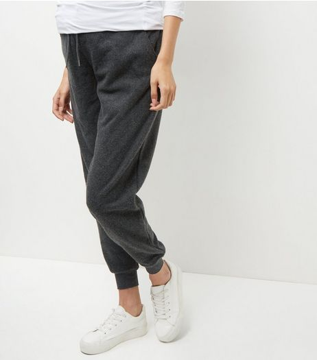 Maternity Grey Basic Joggers | New Look