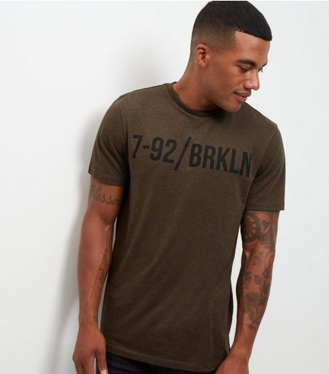 Khaki 792 Brooklyn T-Shirt | New Look