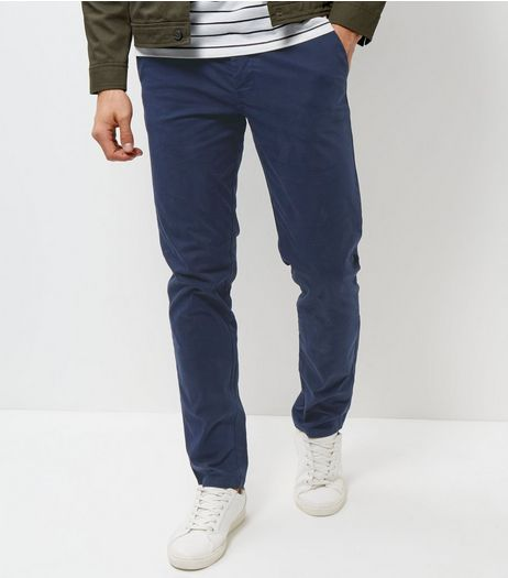 Blue Slim Chinos | New Look