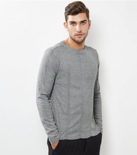Grey Fine Knit Sweater | New Look