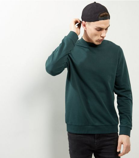 Dark Green Turtle Neck Sweater | New Look