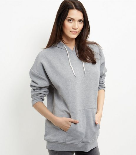 Tall Grey Oversized Hoodie  | New Look
