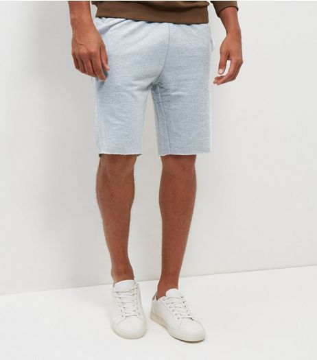 Grey Pique Shorts | New Look