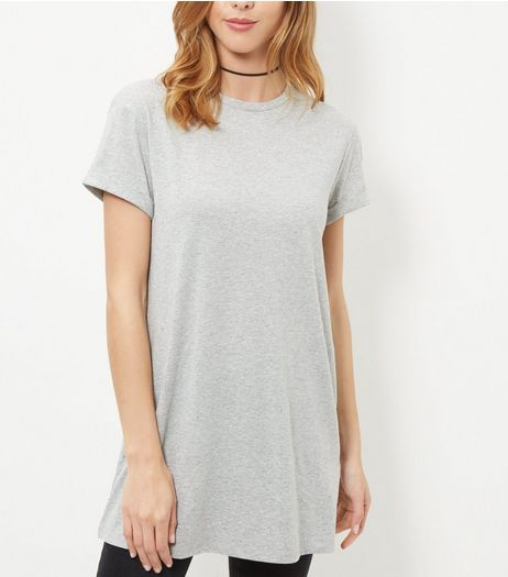 Grey Boyfriend T-Shirt  | New Look