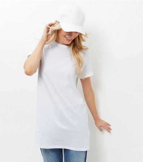 White Boyfriend T-Shirt  | New Look