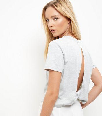 grey-twist-cut-out-back-t-shirt