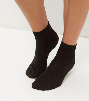black-metallic-socks