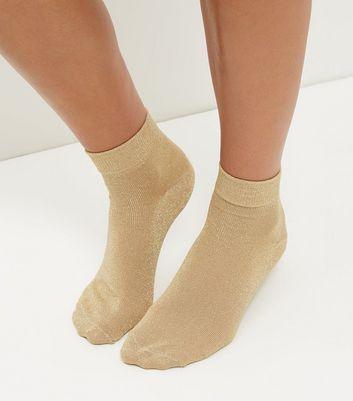 gold-metallic-socks