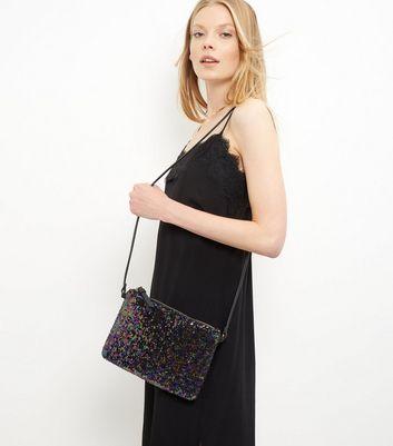 black-sequin-across-body-bag
