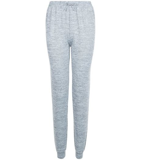 Teens Grey Fine Knit Joggers | New Look