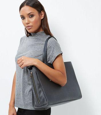 Black Popper Tote Bag