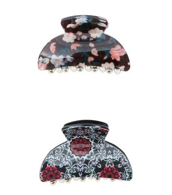 2-pack-red-floral-print-bulldog-clips