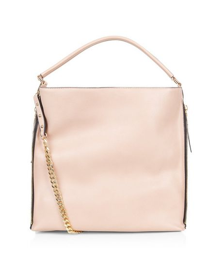 Cream Chain Strap Shoulder Bag | New Look