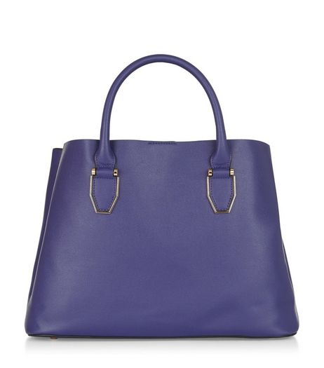 Blue Tote Bag | New Look