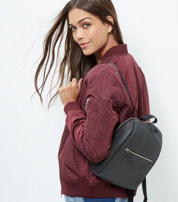 black-leather-mini-backpack