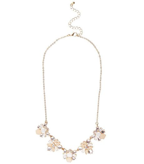 Crystal Diamante Necklace | New Look