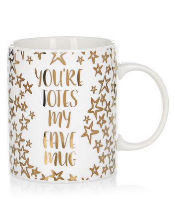 White Totes My Fave Mug