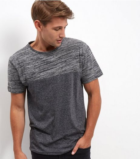 Grey Contrast Short Sleeve T-Shirt | New Look