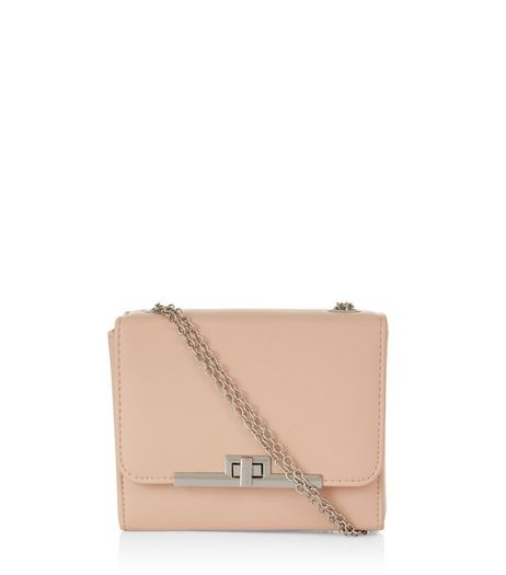 Pink Mini Box Bag | New Look