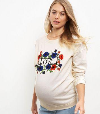 maternity-cream-love-floral-print-sweater