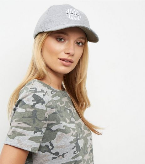 Pale Grey 1993 Cap | New Look