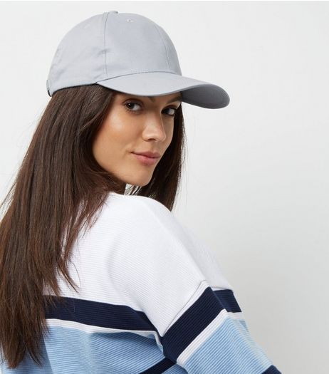 Pale Blue Cap | New Look