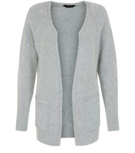 Teens Grey Longline Cardigan | New Look
