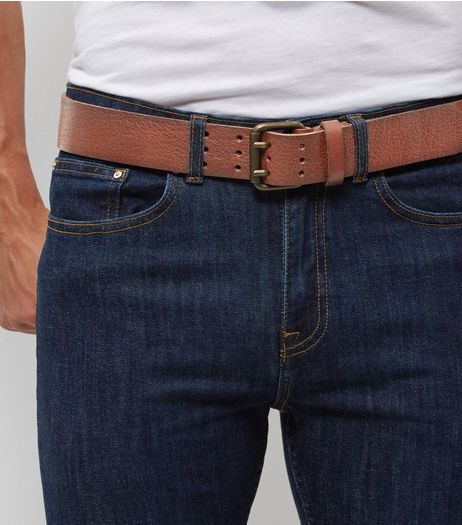 Brown Leather Belt  | New Look