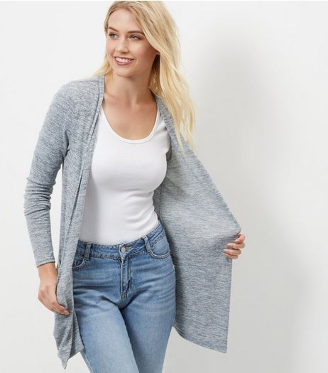 Tall Grey Boyfriend Cardigan | New Look