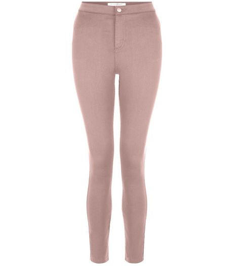 Teens Shell Pink Super Skinny Jeans | New Look